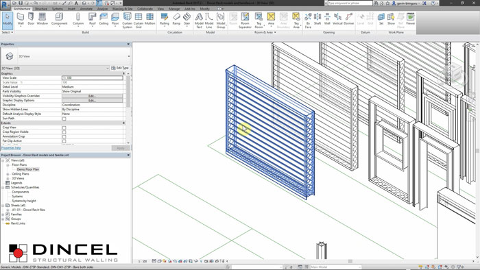 Dincel revit - masterfile video