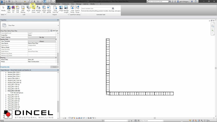 Dincel revit - migrating to your project video
